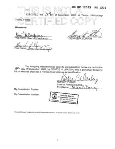 Documents indicating land remediation completed at the Westshore Yacht Club.