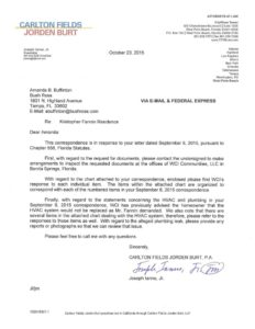 final response from wci-1