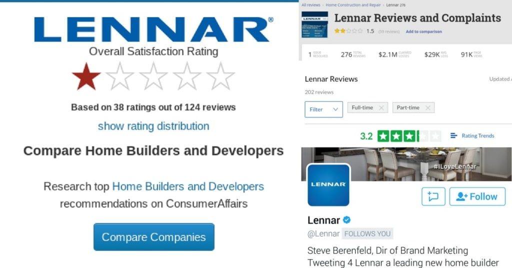 lennar customer care lennar reviews