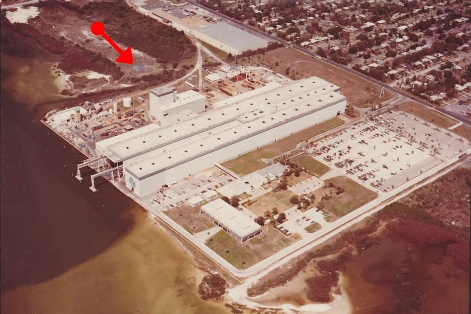 A Westinghouse Factory Before WCI Communities (Now Lennar Homes) Built Homes on the Land