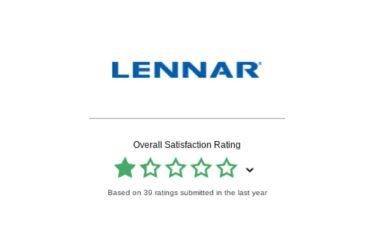 Lennar reviews and ratings social media