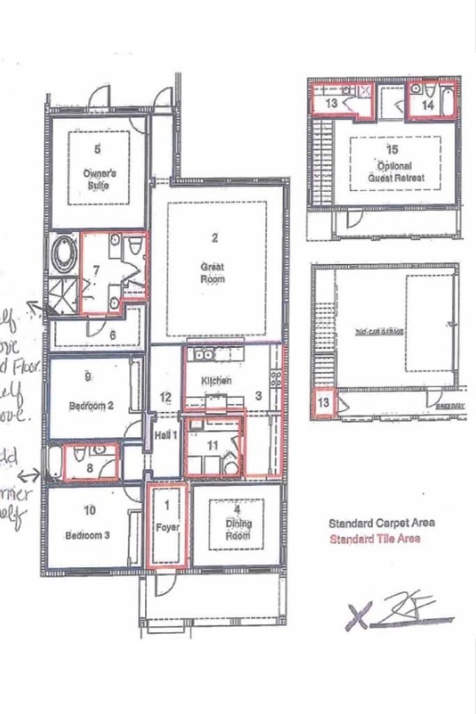 lennar home layout westshore yacht club