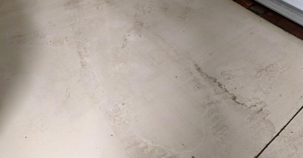 Garage Slip Hazard Water Intrusion My Lennar Home