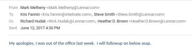 last mark metheny lennar email june 12 2017