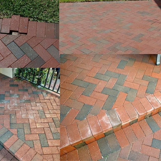 loose and defective brick pavers white color lennar homes construction problems joel fedora