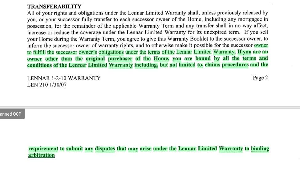 Lennar Warranty 12 Shocking Facts My Lennar Home
