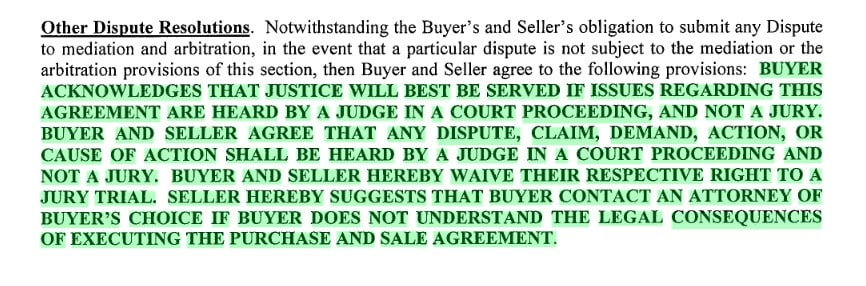lennar home warranty requires waiving trial by jury lennar construction issues