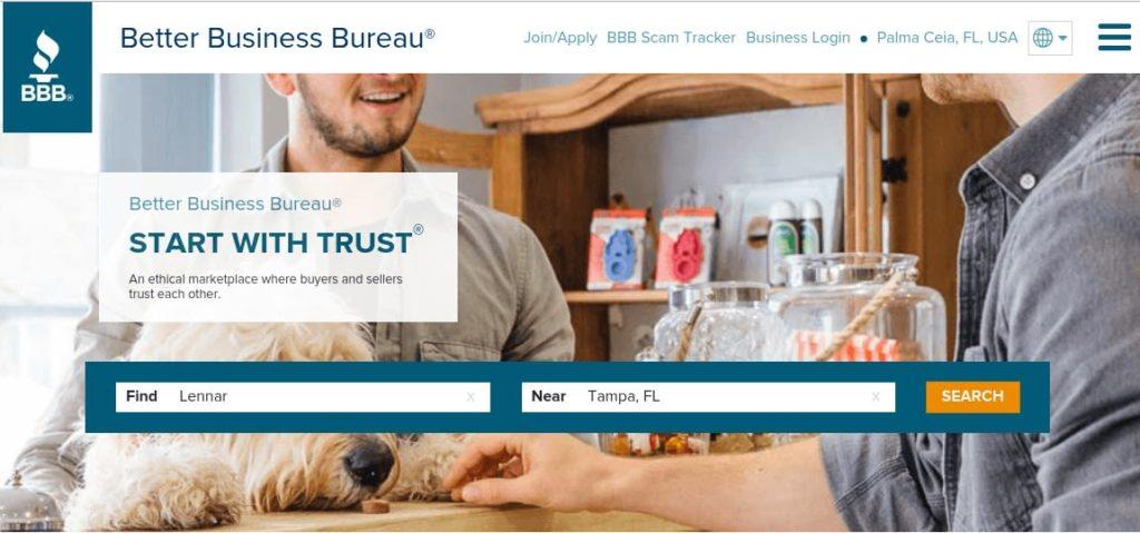 Lennar-reviews-better-business-bureau-mark metheny