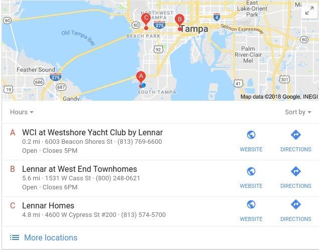 lennar-homes-reviews-google-search-maps-lennar tampa