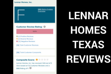 lennar homes texas reviews construction issues