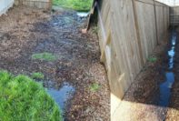 lennar texas homeowner review yard grading flooding construction problems